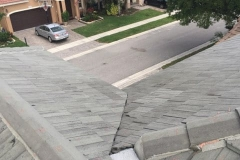 Completed roof repair