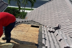 Replacing old roof materials