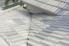 This roof has some damage that needs repair