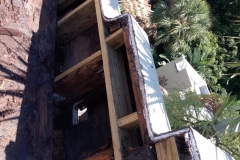 We remove all damaged wood